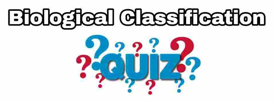 Biological Classification: Monera/Virus Quiz